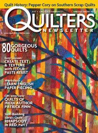 Quilting Magazine Issues | Quilters Newsletter
