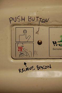 14 Funny Toilet Graffiti - Oddee.com (bathroom graffiti, funny graffiti)
