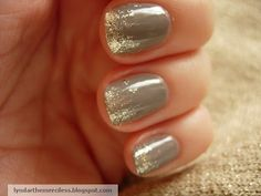 Ombre Sparkle Nails
