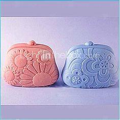 Handbag Fondant Cake Chocolate Silicone Mold Cake Decoration ToolsL7.6cmW6cmH3.4cm  http://www.shareasale.com/m-pr.cfm?merchantID=51900&userID=1014066&productID=558431714
