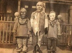 Scary vintage Halloween costumes – in pictures