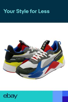 42d55f2ba93d Puma RS-X Toys 369449-02 RARE LIMITED OFF SOLD 100% AUTHENTIC DS ON HAND US  SZ