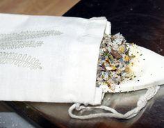 DIY Bath Tea and Salt Soak Recipe - Organic Spa Treatment
