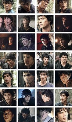 Evolution of Bellamy looking at Clarke. this is the most beautifullest thing ever - one of the best things about this is you see how quickly he changes his mind about her
