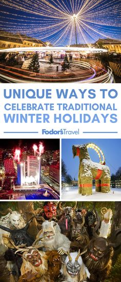 Unique Ways to Celebrate Traditional Winter Holidays Holiday Places, Holiday Deals, Holiday Foods, Winter Travel, Holiday Travel, Amazing Destinations, Travel Destinations, Cheap Beach Vacations, Inclusive Holidays