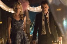 """The Vampire Diaries -- """"I'm Thinking of You All The While"""" -- Image Number: -- Pictured (L-R): Candice Accola as Caroline and Paul Wesley as Stefan -- Photo: Tina Rowden/The CW -- © 2015 The CW Network, LLC. All rights reserved. Vampire Diaries Stefan, Vampire Diaries Season 7, Vampire Diaries Cast, Vampire Diaries The Originals, Caroline Forbes, Stefan E Caroline, Elena Gilbert, Stefan Salvatore, Paul Wesley"""