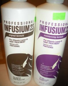 Infusium 23. Teen years for sure! i went thru gallons of this shit!