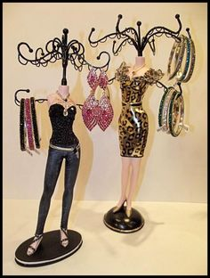 Trendy Jewelry Stands! Beautiful Crystal covered Bangles, great for Stacking or to wear alone!