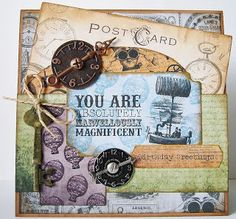 #docrafts Papermania Chronology