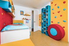 Knihovna s lezeckou stěnou slibuje správné dobrodružství