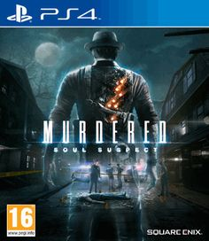 Platform: PlayStation 4 MURDERED: SOUL SUSPECT is a dark, detective thriller with a supernatural twist: solving your own murder from the afterlife. Play as Ronan O'Connor, a Salem police detective … God Eater 2, Beyond Two Souls, Tommy Lee Jones, Xbox 360 Games, Playstation Games, Arcade Games, Wii, Videogames, Instant Gaming