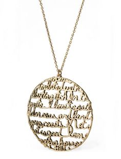 Moby Dick necklace ($24). | 35 Impossibly Clever Pieces Of Jewelry Inspired By Books