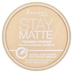 Rimmel Stay Matte Pressed Powder Transparent 1