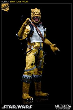 GET THE EXCLUSIVE ONE! HE IS WAY COOLER! Sideshow Collectibles - Bossk Sixth Scale Figure