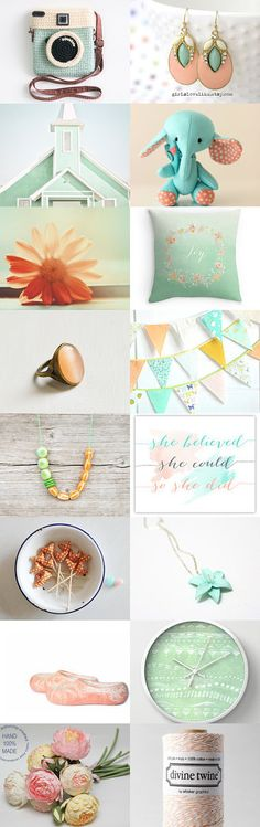 Pretty as a Picture by Nathalie Patenaude on Etsy--Pinned with TreasuryPin.com