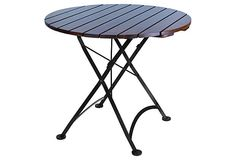 "32"" round european cafe folding table, furniture design house"