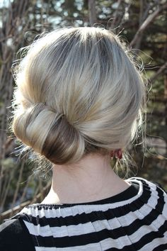 This is the simplest way I've ever done a chignon. It looks so chic and really is such an effortless style. So make sure to watch the video and prepared to ammaaaaazed! **Updated Video- All of the Topsy Tail Revisited styles are now in one video**