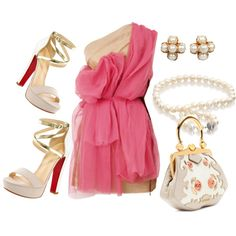 Pink Party Outfits