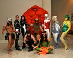 Alpha Flight cosplay