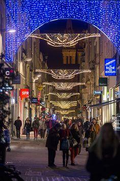 #Angers Rue Saint-Aubin. (Photo: Thierry Bonnet/Ville d'Angers)
