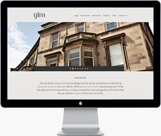 GLM Website and brand identity by Touch http://www.thetouchagency.co.uk/