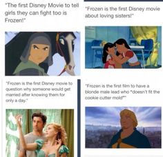 I loved Frozen, but this... This is accurate.