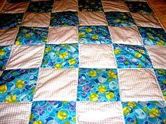 #Baby #quilt #handmade #thecraftstar $15.00