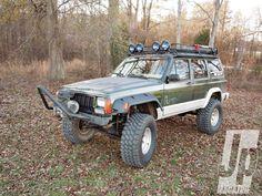 Custom 1995 Jeep Xj