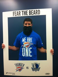 Rodney Stevens, Wichita Thunder and Genesis Health Clubs Owner, Fears The Beard