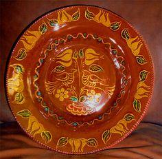 Redware Bowl Ned Foltz
