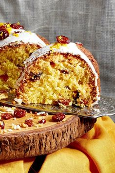 NYT Cooking: This orange cranberry cake is a gift to the holiday baker. It can be made ahead. It travels well. And it can be brought out any time of day — with coffee or tea in the morning or afternoon, or with Cognac or plum brandy after dinner. Dried cranberries add a jaunty burst of color that is especially nice for the most festive time of year. Don't worry if all%2...