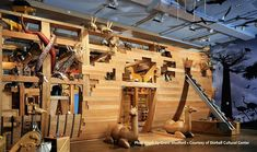 Skirball Cultural Center, Los Angeles presents an ongoing exhibition titled 'Noah's Ark. La With Kids, Toddler Play Area, Noahs Arc, Los Angeles With Kids, Los Angeles Museum, Indoor Playground, Cultural Center, Culture, Architecture