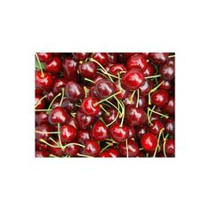 Cherries, Ripponvale, near Cromwell, Central Otago, South Island, New... (62 BAM) ❤ liked on Polyvore