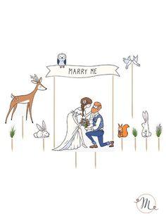 cake-topper-marry-me-marthas-cottage2.jpg (540×720)