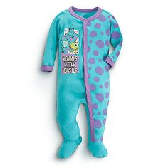 Disney Monsters, Inc. Stretchie Sleeper for Baby Disney Baby Clothes, Baby Kids Clothes, Monsters Inc Baby, Disney Monsters, Baby Boy Outfits, Kids Outfits, Toddler Outfits, Disney Babys, Disney Disney