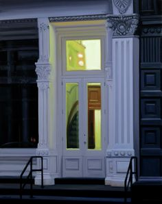 S  T  E  P  H  E  N    M  A  G  S  I  G - Greene Street Window, oil on linen, 40x32in