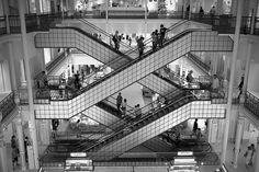 Bon marché, Paris by F2-Bokeh, via Flickr