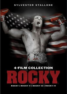 Shop Rocky: Collection Discs] [DVD] at Best Buy. Find low everyday prices and buy online for delivery or in-store pick-up. Rocky Film, Four Movie, Rocky Balboa, Sylvester Stallone, Cool Things To Buy, Boxing, Model, Movie Posters, Collection