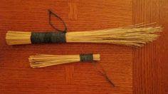 Phillip Schmidt Pottery: How to make a Hakeme brush