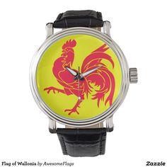 Flag of Wallonia Wristwatch