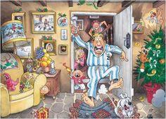 Ravensburger Wasgij Jigsaw Puzzles and Solutions | Original Wasgij Christmas