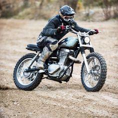 Suzuki LS650 (Savage)  Tracker/scrambler  That torquey thumper has got to be a blast to ride!