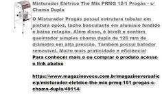 Magazine Vera Alice da Rede Magazine Você: Misturador Elétrico The Mix PRMQ 15/1…