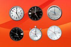 Simple Clock Gadget for Windows 10 http://win10gadgets.com/simple-clock/  #clock, #windows10, #gadgets, #desktop