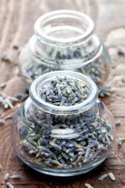 English Lavender Bath    Fresh lavender is very easy to dry on your own. Simply cut small bunches of fresh flowers and hang them upside down to dry in a warm, dark spot.