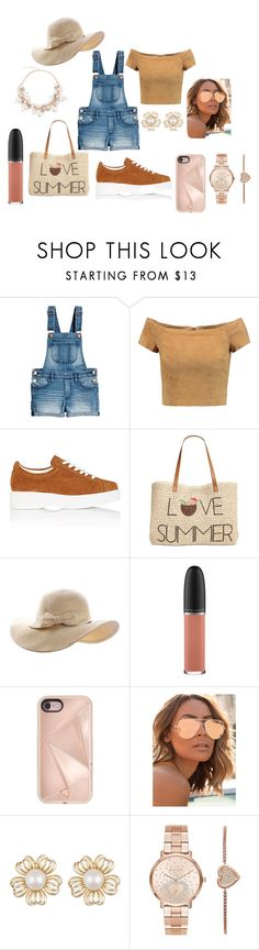 """""""COOL"""" by rita-zakhour on Polyvore featuring Alice + Olivia, Robert Clergerie, Style & Co., MAC Cosmetics, Rebecca Minkoff, Quay and Michael Kors"""