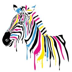 Pop art poster cartoon poster canvas painting picture animal scenery prints giant poster animals canvas painting Zebra passion