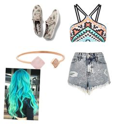 """""""How hot is it where you live?"""" by dance-972 on Polyvore featuring Seafolly, River Island, Keds and Michael Kors"""