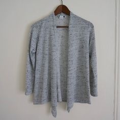 Heather Grey Cardigan Youth XL but could fit a women's XS Sweaters Cardigans