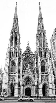 St. Patricks Cathedral in New York City is a great example of Gothic architecture! Such a beautiful building!